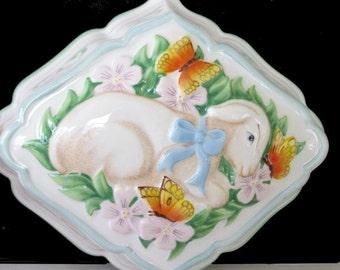 Lamb Ceramic Mold LE CORDON BLEU 1986 by The Franklin Mint