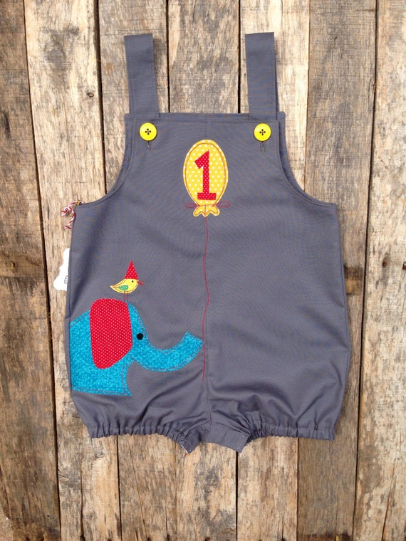 Ellie and Friend Circus Birthday Romper