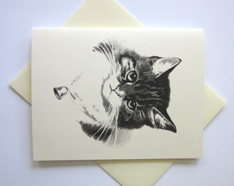 Kitten Cat Stationery Note Cards Set of 10 with Matching Envelopes