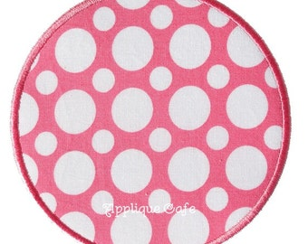 009 Circle and Rectangle Machine Embroidery Patch Appliques