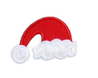 240 Mini/add on Santa Hat Machine Embroidery Applique Design