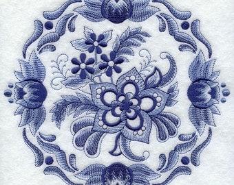 Delft Blue Pillow Etsy