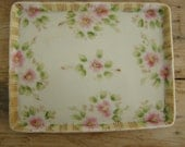 Very Sweet Hand Painted NIPPON Tray/SALE