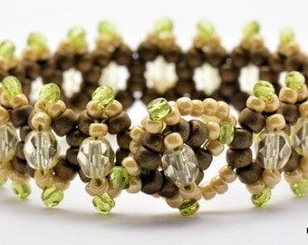 Sale / On Sale / Clearance Jewelry / Jewelry on Sale / Marked Down / Woodlands Jitterbug Beaded Bracelet - JB00004