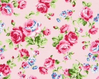 Cosmo Roses on Pink  Oxford Cloth AP35304-1B