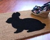 Garden Bunny Doormat