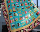Patches Minky Quilt Throw/Lap