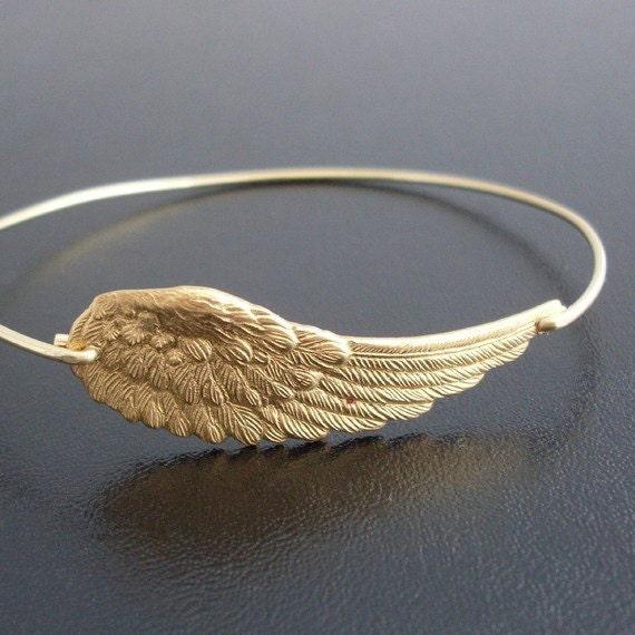Angel Wing Bracelet, Angel Wing Jewelry, Spiritual Bracelet for Her, Spiritual Jewelry for Mom