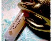MEMENTO- Solid Scent solid perfume- VEGAN