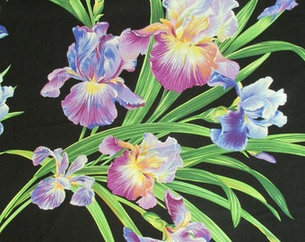 Michael Miller Fabric Primavera Iris Floral Fabric-yards