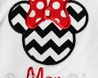Adult Minnie Mouse Shirt, Mom Minnie Mouse Shirt, Women's Minnie Mouse Shirt, Personalized Minnie Mouse Shirt, Custom Minnie Mouse Shirt
