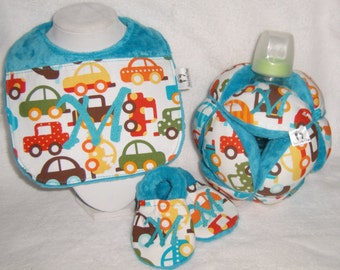 Baby Play n Go Set with your choice Initial.