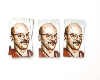 David Cross as Tobias Fünke - Fridge Magnet - Arrested Development Portrait Painting