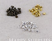 Sale - 10% OFF - 200pcs 6x5mm Earring Studs Back Stoppers (25210)