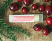 Winter Spirit Lip Balm // Tube // Organic