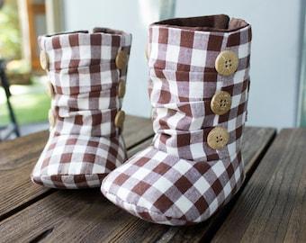 no 618 Nico Baby Boots PDF Pattern