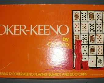 Vintage Poker-Keeno Game