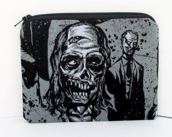 Ugly Zombies, Small Zipper Pouch, Dead Zombie Coin Purse