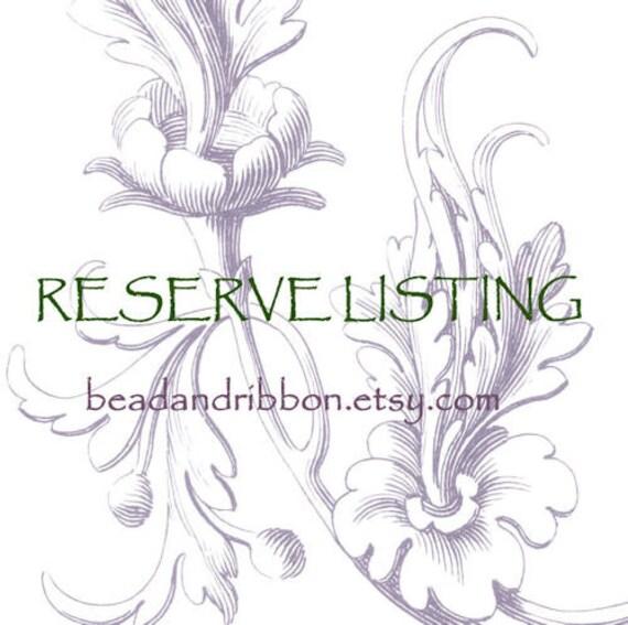 Reserve for silverimpressions