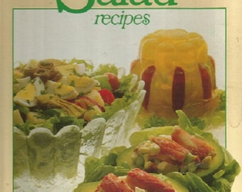 "Vintage 1979 Better Homes and Gardens ""All Time Favorite Salad Recipes"" Good Book"