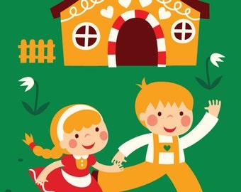 Poster - Hansel and Gretel
