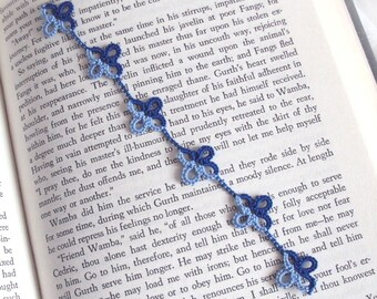Medieval Bookmark in Tatted Lace - Emma
