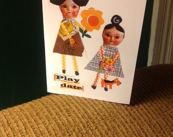 Handmade Greeting Card - Friendship