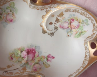 Shabby Chic Rose Germany Bowl