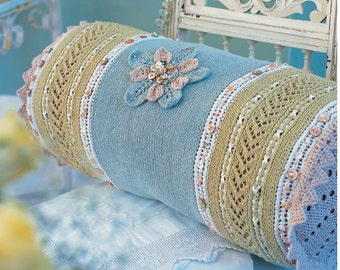 Knitting Pattern - Vintage Inspired Knitted Pillow/Cushion