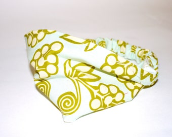Cool Tones Elastic Fabric Headband.  Infant & Toddler sizes