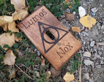 Harry Potter - Dealthy Hallows - Lumos Nox - Light Switch Cover - Light Switch Cover