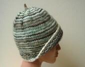 Eco Striped Woolen Beanie