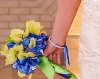 Wedidng Bridal Rhinestone Bracelet Cuff Bangle