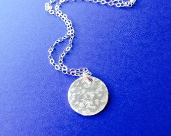 Full Moon Charm necklace