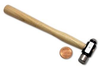 BIJ-697, KENT Economy 4 oz Ball Peen Hammer With Wood Handle