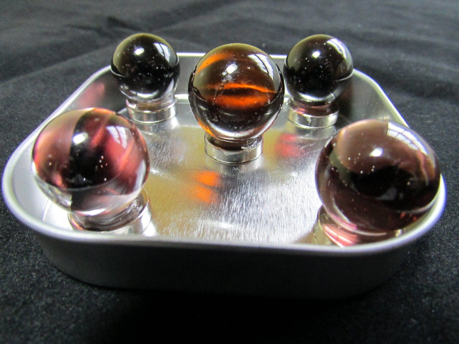 Strong Magnets Glass Marble Magnets 1 Set Of 5 Magnets Gift