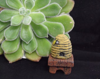 Bee Hive for the fairy garden