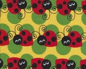 Lady Bug fabric yardage