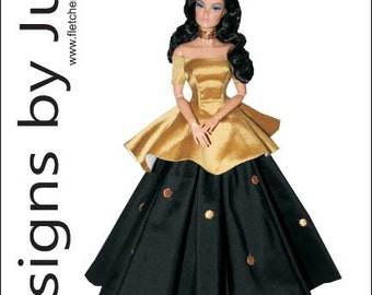 "PDF Memories Pattern for 12"" Fashion Royalty Dolls Integrity"