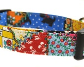 Patchwork - Colorful Dog Collar