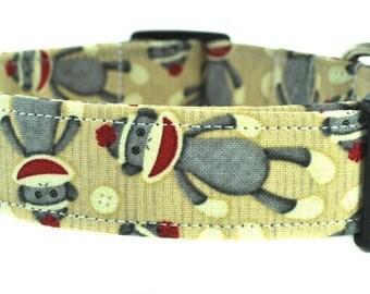 Funky Monkey Dog Collar