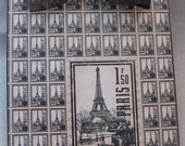 Altered Decorative Clipboard Eiffel Tower Paris Home Decor