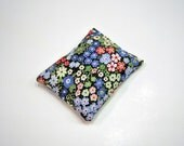 Floral Rice Pack or Wrist Rest in Blue, Red, Green, & White