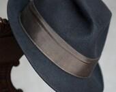 Dobbs Fedora Hat Vintage Black