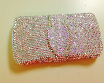 Crystal Rhinestoned Wipe Case