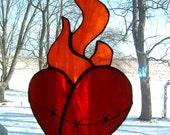 Sacred Heart Suncatcher