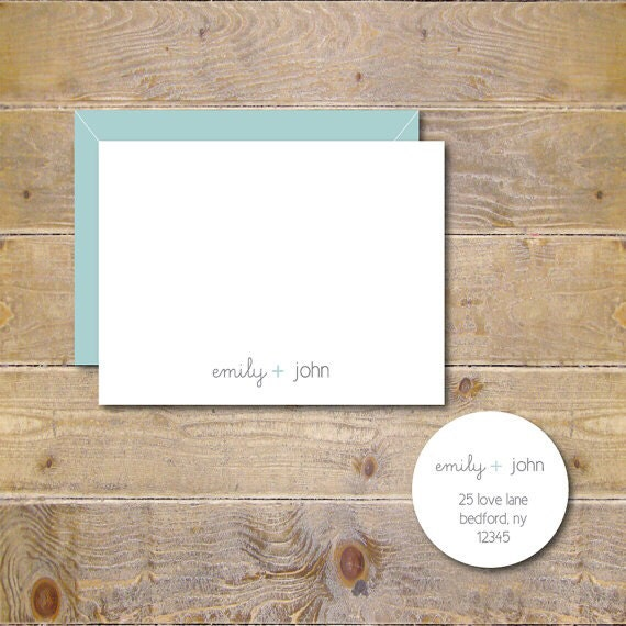 Wedding Thank You Cards, Wedding, Thank You Cards, Bridal Shower, Affordable Wedding, Bridal Shower Thank You Cards