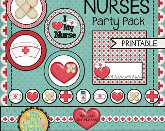 Printable NURSE Party