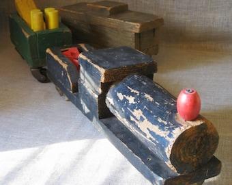 Folk Art Train , Folk Art , Handmade , Wooden Train , Transportation , Folk Art Train , Folk Art Toy , Transportation , Toy , Wooden Toy