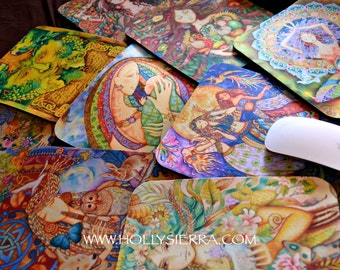 2 MOUSE PADS  - Holly Sierra Fine Art - Choose The Image You Want
